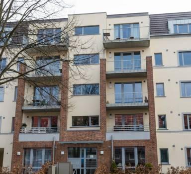 Neubau eines Mehrfamilienwohnhauses mit 14 WE